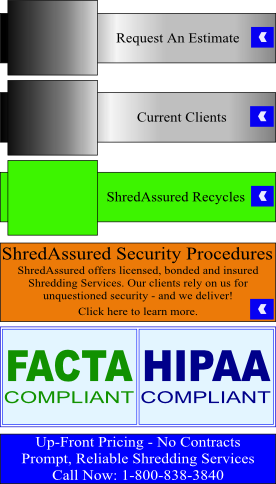 residential paper shredding Get tailored shredding & document destruction services from the world leader in paper shredding contact shred-it today to see how we protect what matters.